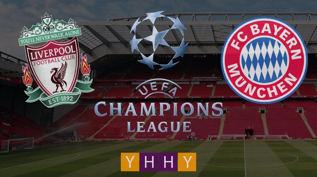 Ливерпуль - Бавария, 1/8 финала Лиги чемпионов