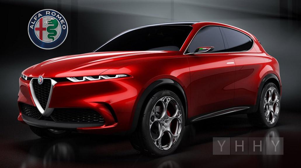 Концепт внедорожника Alfa Romeo Tonale