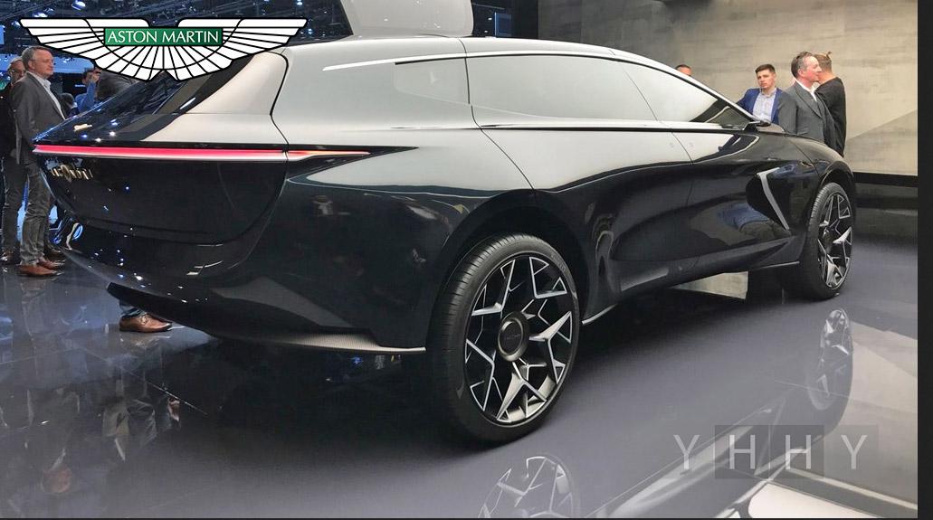 Aston Martin в Женеве представила электрический внедорожник Lagonda All-Terrain