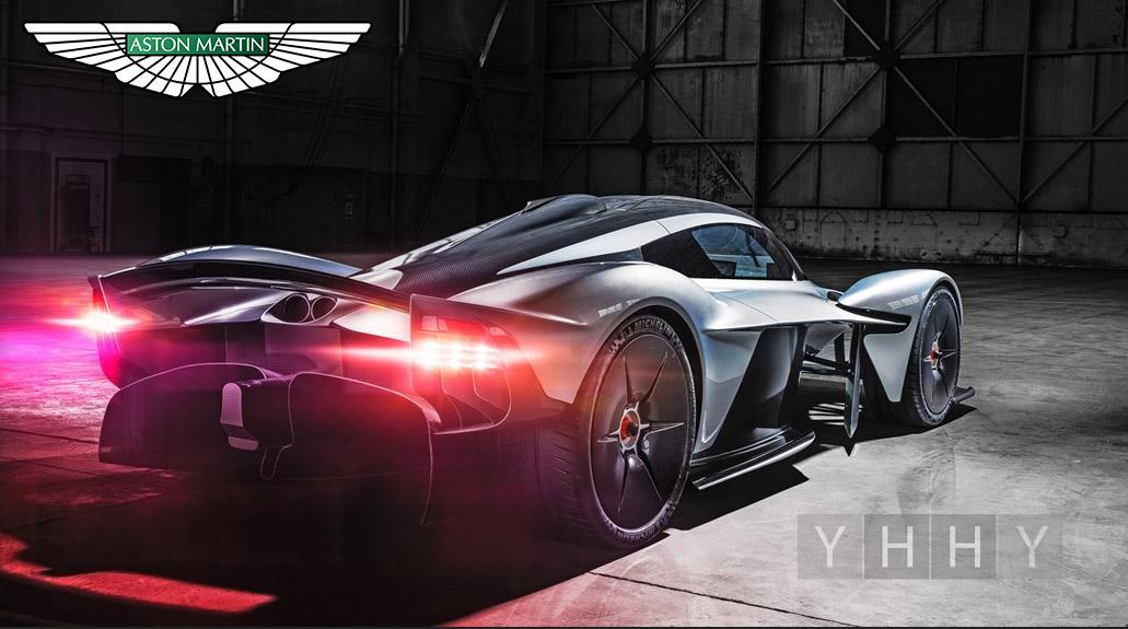 Гибридный гиперкар Aston Martin Valkyrie