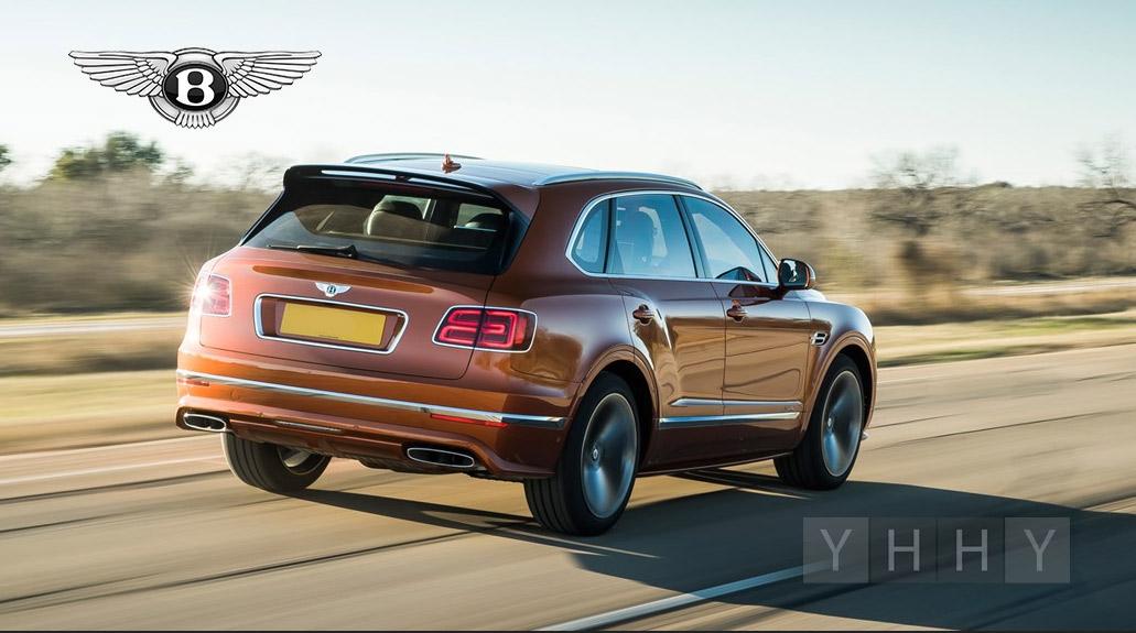 Bentley Bentayga самый быстрый внедорожник в мире