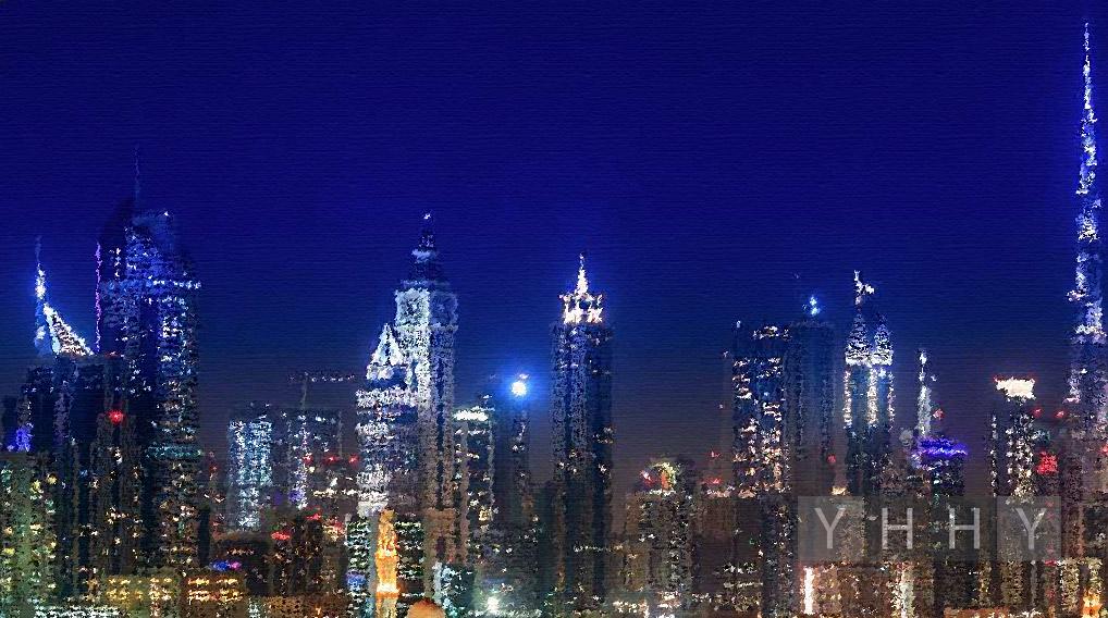 Лучшие места ночного Дубая (ОАЭ)