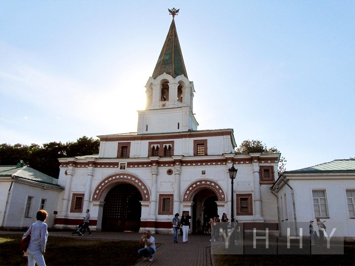 Передние ворота в Коломенском