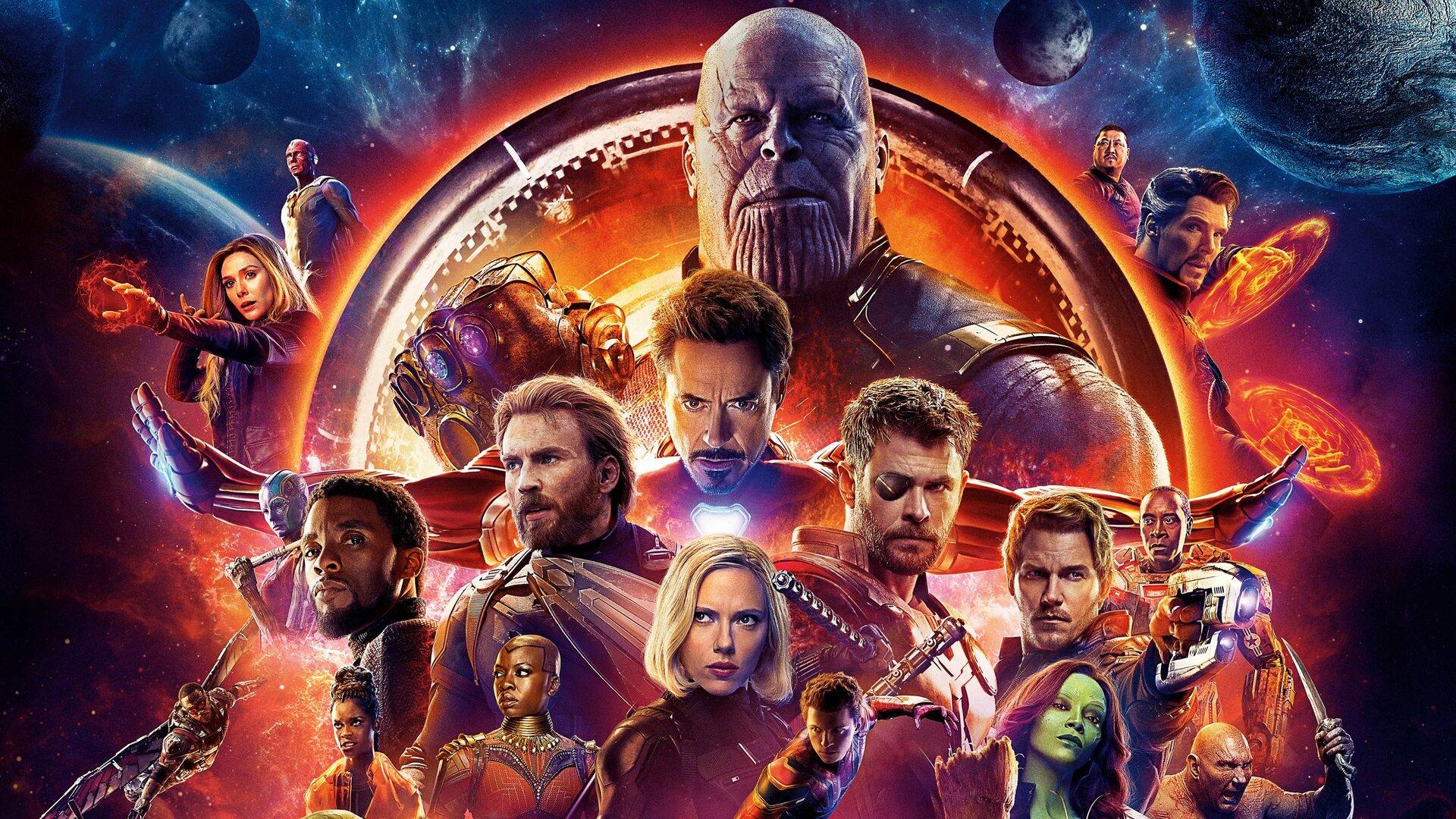 Мстители: Война бесконечности (2018) — фантастика, фэнтези, HD