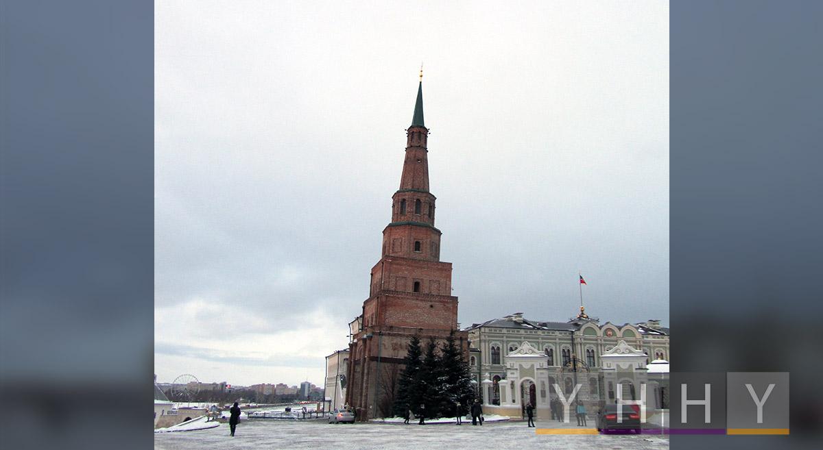 Башня Сююмбике в Казанском Кремле