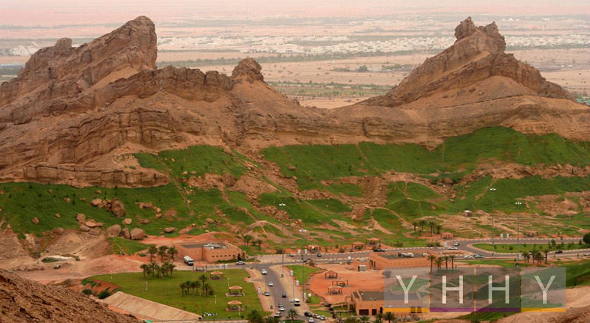 Гора Джабаль-Хафит в ОАЭ