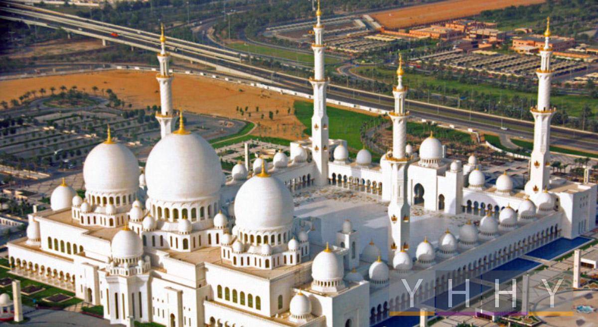 Мечеть шейха Зайда в Абу-Даби (ОАЭ)