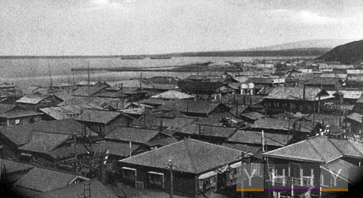 Кварталы Хама-Сигай в районе северного ковша 1930 года, Губернаторство Карафуто
