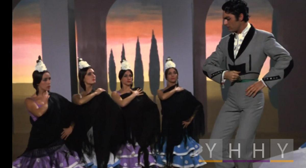 Танец Петенера (Peteneras) фламенко