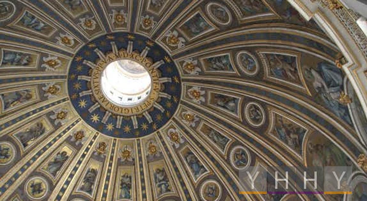 Купол базилики Святого Петра в Ватикане