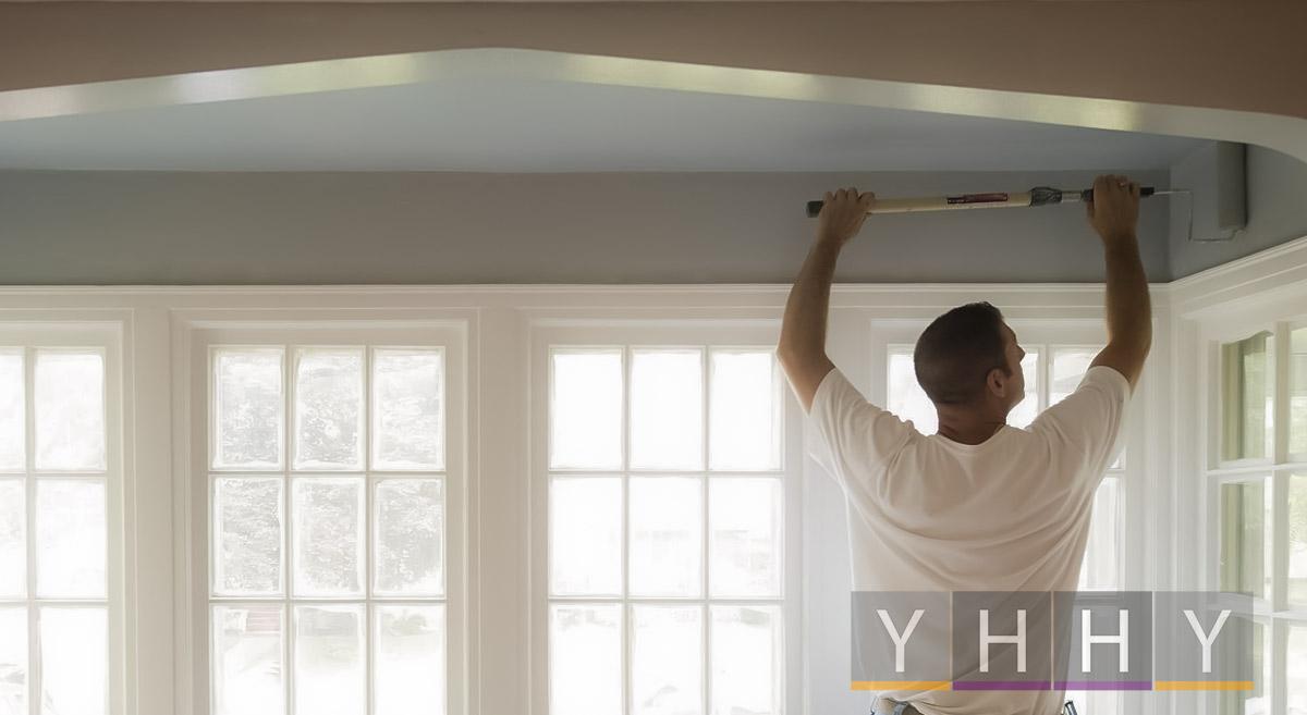 Все, что вам нужно знать о покраске потолков
