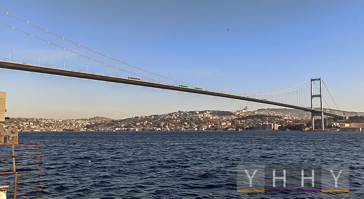 Лучшее время для посещения Босфорского моста