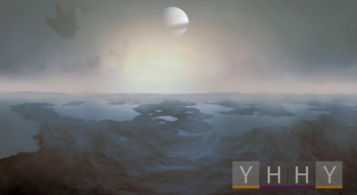 Самый большой кратер Титана Менрва может стать идеальной колыбелью для жизни