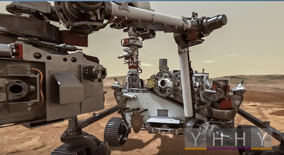 Марсоход Perseverance Rover НАСА передал звук колес
