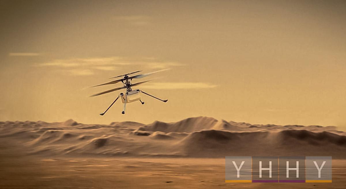 Вертолет Ingenuity НАСА на Марсе провел первую ночь в одиночестве
