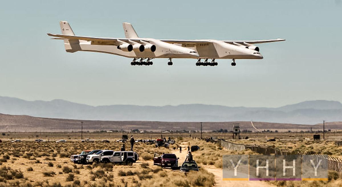 Гигантский самолет Stratolaunch совершил второй испытательный полет