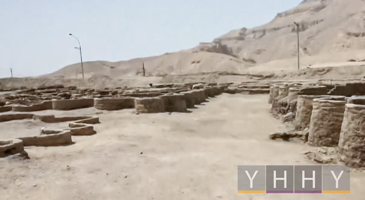 3000-летний «Затерянный золотой город» обнаружен в Египте