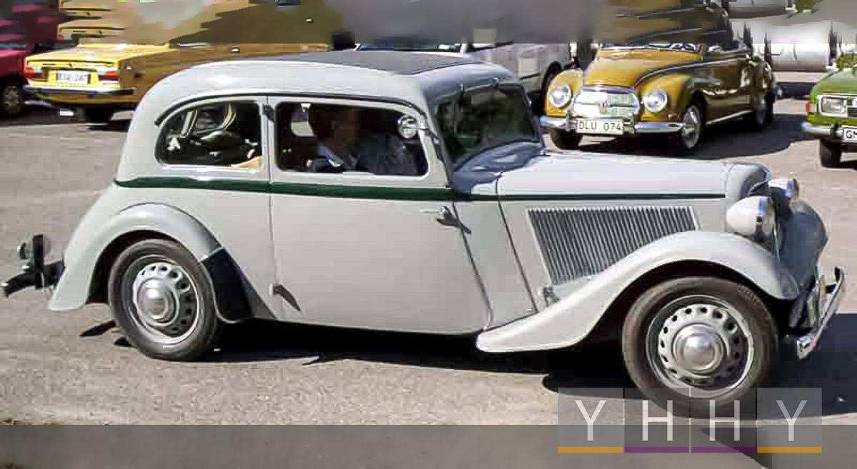 Модель автомобилей Adler Trumpf Junior