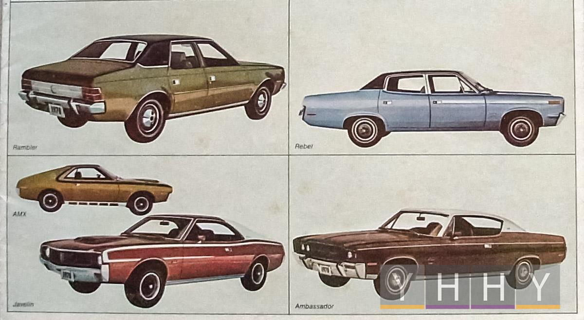 Марка автомобилей AMC