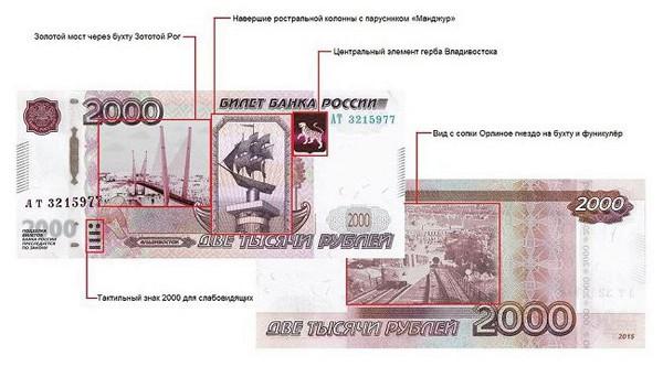 Обсуждается введение купюры достоинством 2000 рублей.