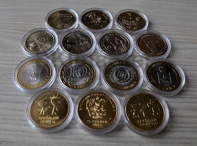 В продажу поступили капсулы для монет.